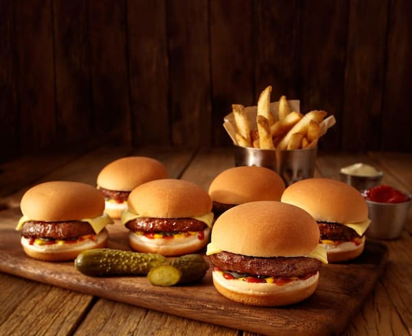 Ridgy didgy mini burgers
