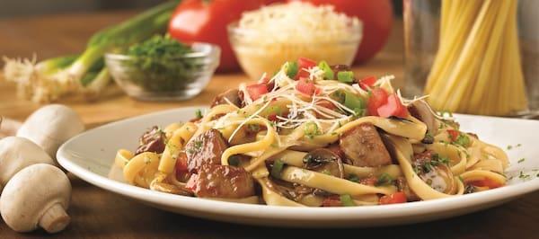 Steakhouse pasta