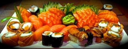 Combinado de salmão (32 peças)