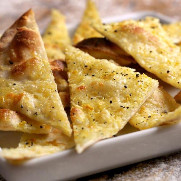 Crostini Parmegiano