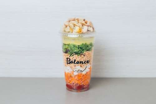 Salada chicken balance - 333kcal