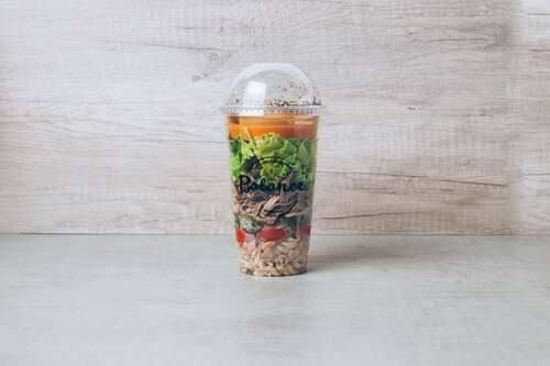 Salada carne picante - 465kcal