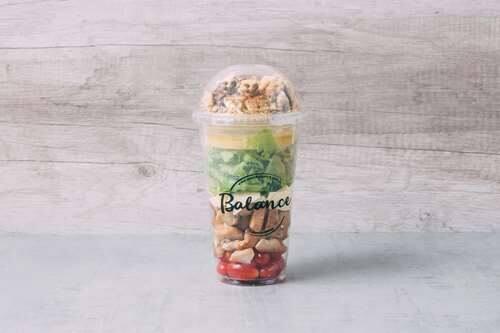 Salada caesar fit - 335kcal