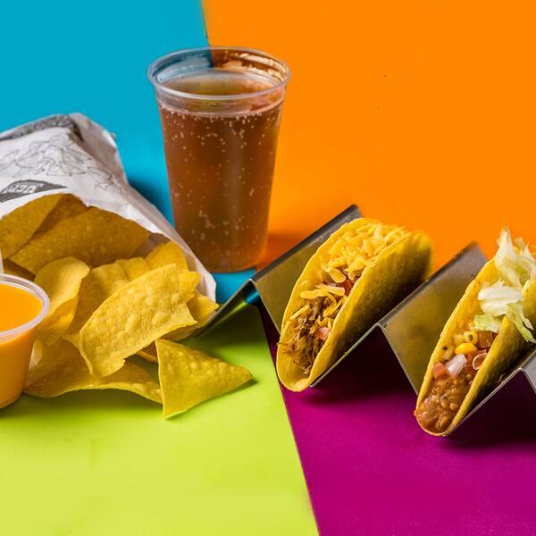 Combo tacos & nachos + bebida