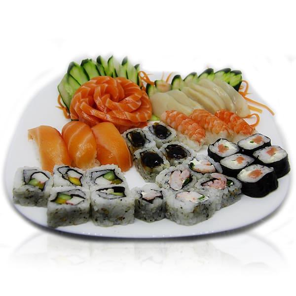 Combinado de salmão (30 peças)