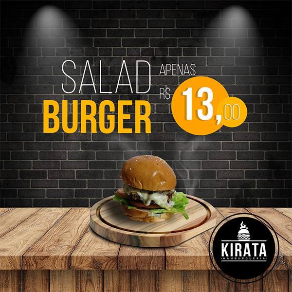 Kirata Salad Burger