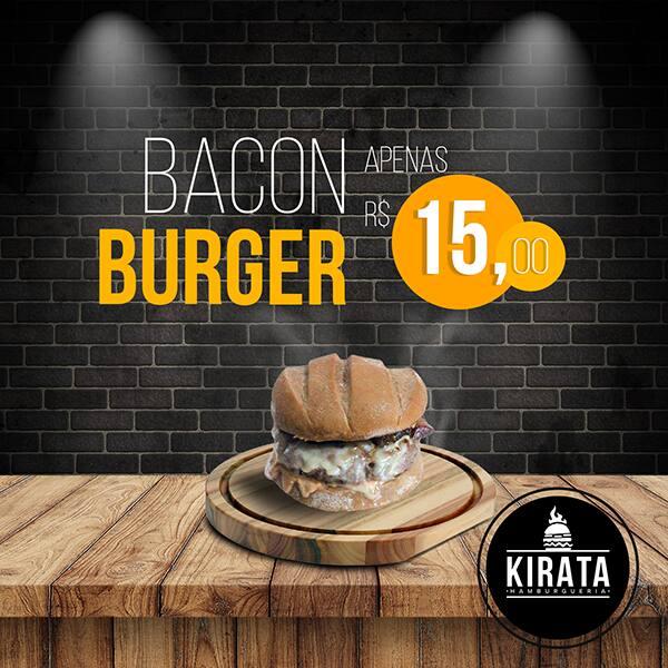 Kirata Bacon Burger