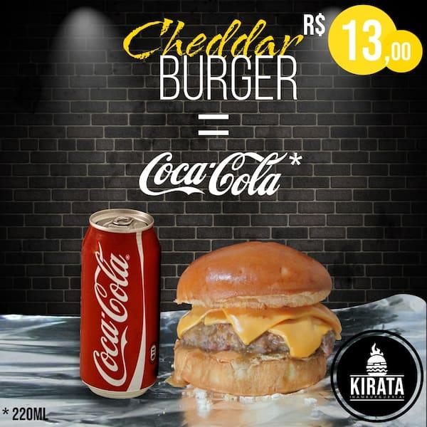 Kirata Cheddar Burger