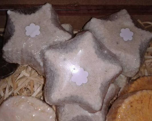 Sabonete artesanal - Estrela Mística - mín. 80g