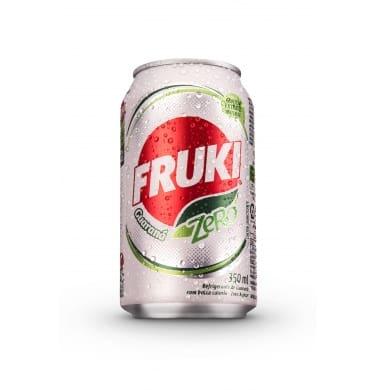 Fruki Guaraná zero lata