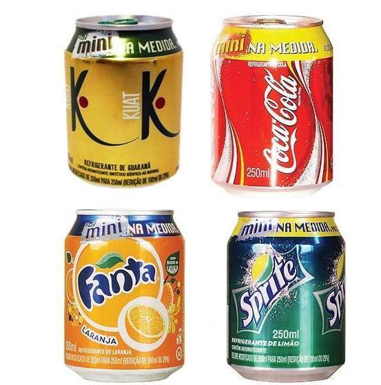 Refrigerante lata 220 ml