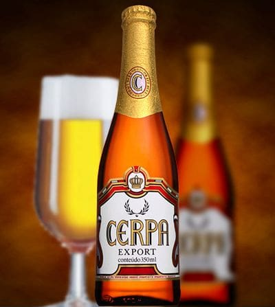 Cerveja cerpa long neck 350ml