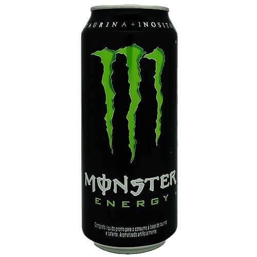 Monster energy verde 473 ml