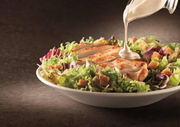 Salada na brasa