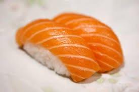 60-salmão ( niguiri de salmão )