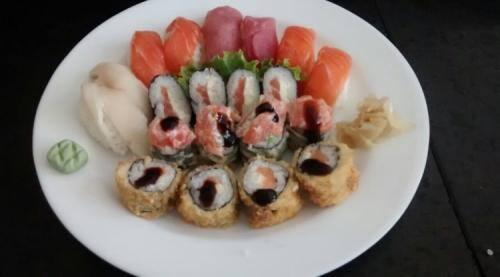 100-sushi misto itamae 20 peças