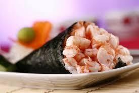 51-temaki camarão hot