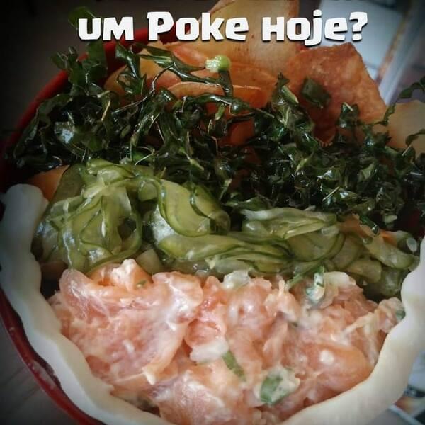 160-  poke de salmão