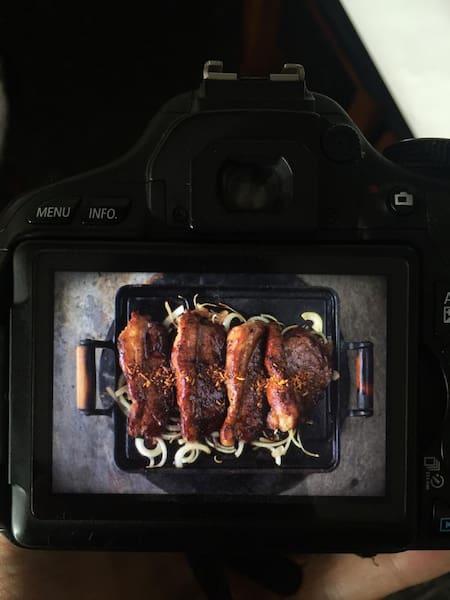 Carne de sol porção inteira.