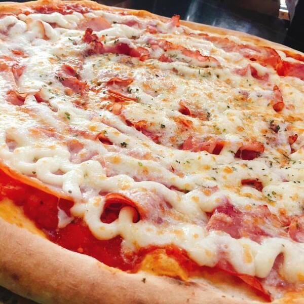 Promoção 30% desconto: pizza 35cm 8 fatias