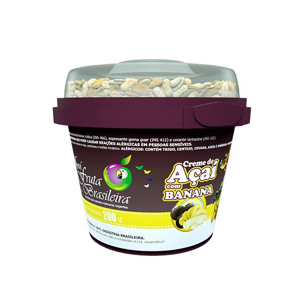 Açaí com Banana - 220 ml