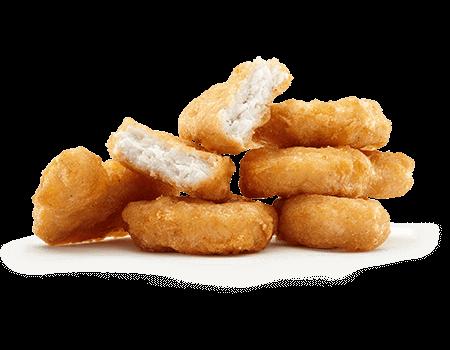 Chicken McNuggets peito de frango 4 unidades