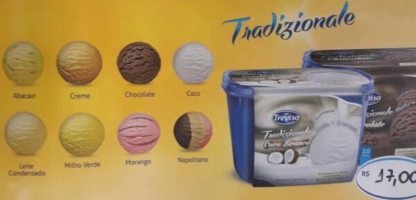 Sorvete Treviso tradizionale 2L
