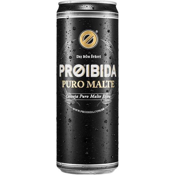 CERVEJA PROIBIDA PURO MALTE