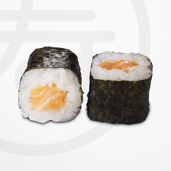 Hossomaki salmão.