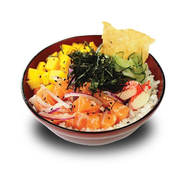 Okinawa Poke (Salmão)