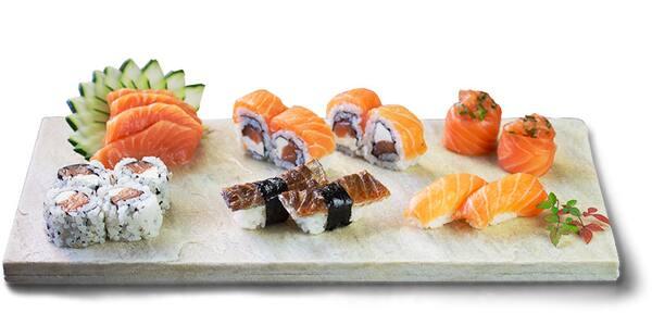 Combinado salmão especial