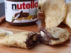 Pastel de Nutella com banana