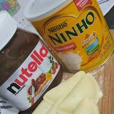 Pastel de Nutella com Ninho