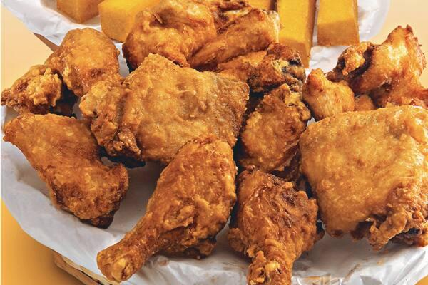 Combo 01 (3 pedaços de frango + 1/2 porção)
