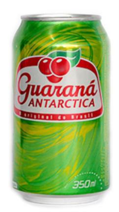Guaraná Antartica lata 350ml