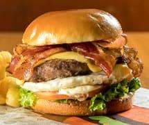 Picanha salada egg bacon