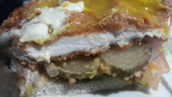 X- chicken + batata rustica