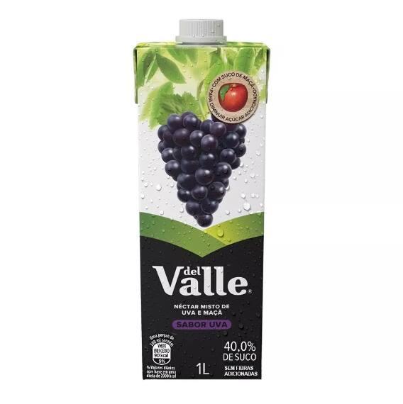Suco DelValle Uva 1 litro