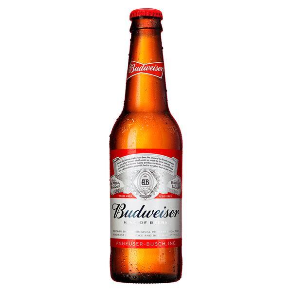 Cerveja Budweiser Longneck 355ml