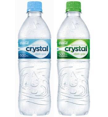 Água mineral 500ml cristal