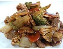 Carne com legumes