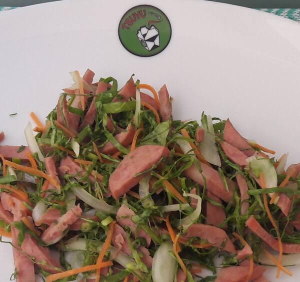 Salada de calabresa