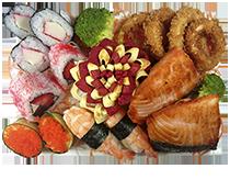 Obentô de salmão