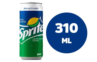 Refrigerante em Lata - Sprite Zero