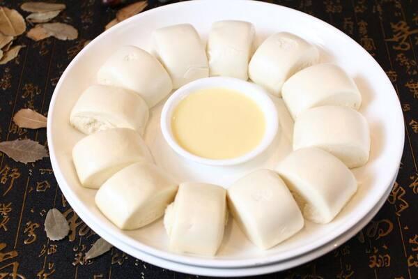 Pão chinês sem recheio