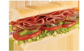 Sanduíche b.m.t italiano (15cm)