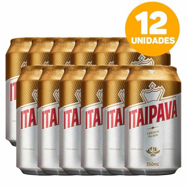 Caixa cerveja Itaipava 350ml