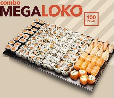 Megaloko 100 peças