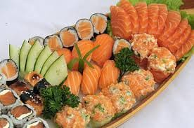 Combinado de salmão 15 peças
