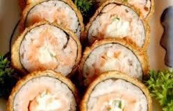 Hot roll de salmão 10 unidades